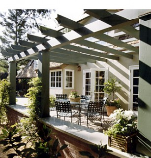 Ana Williamson Architect-Dana Avenue traditional patio