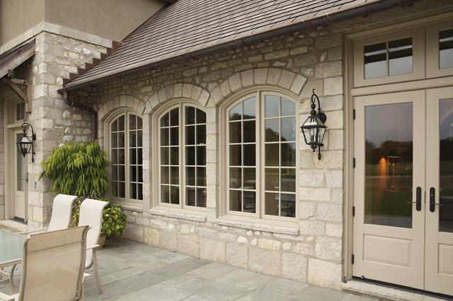 Slate Patio traditional-patio