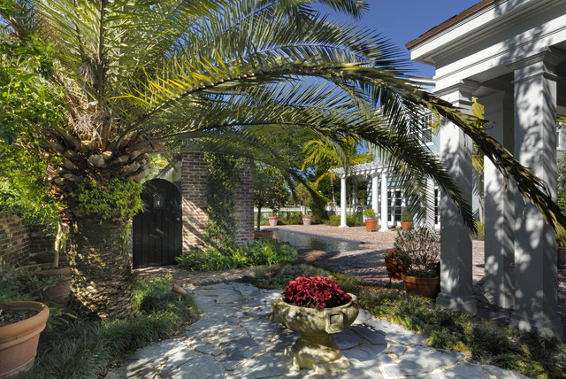Historic Restoration and Preservation traditional-patio