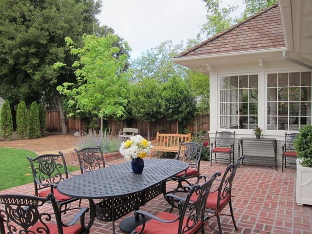 Bryant Street Traditional traditional-patio