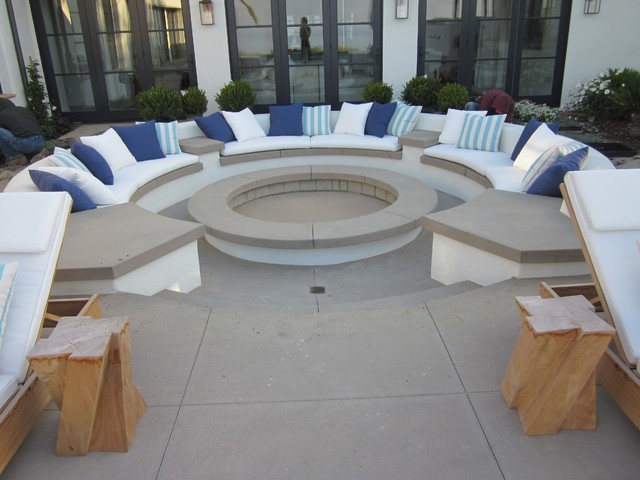 Transitional-Eclectic transitional-patio