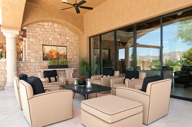 Transitional Masterpiece traditional-patio