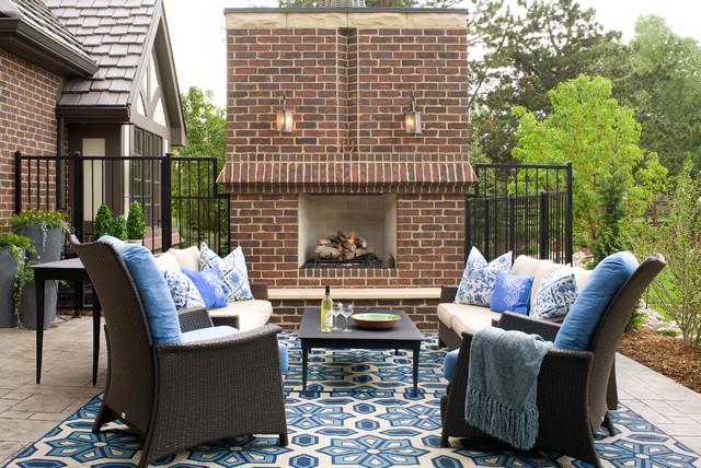 Patio disegno veranda : Transitional Tudor - Traditional - Patio - denver - by Design ...