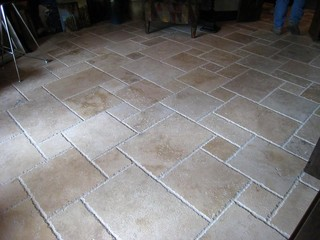 Travertine French Pattern Tiles