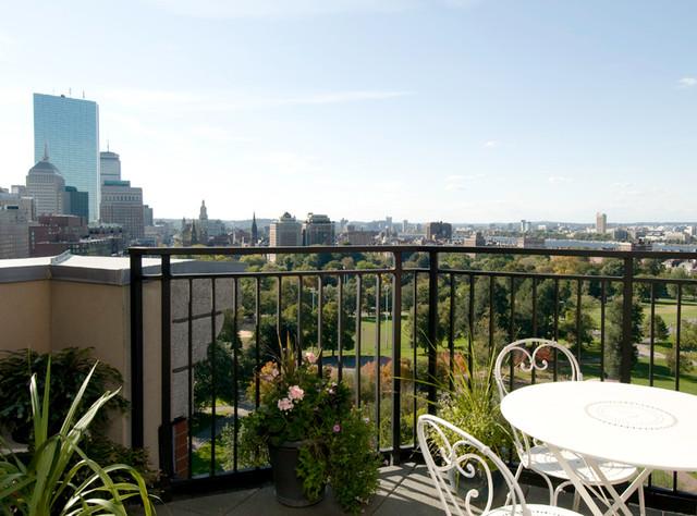 Tremont Street Penthouse contemporary-patio