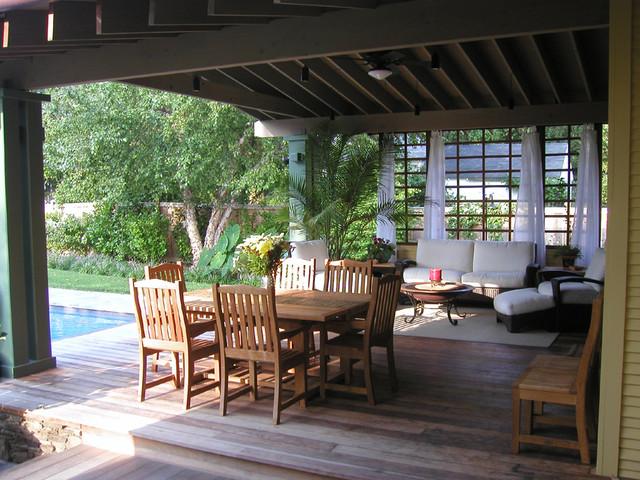 tropical craftsman craftsman-patio
