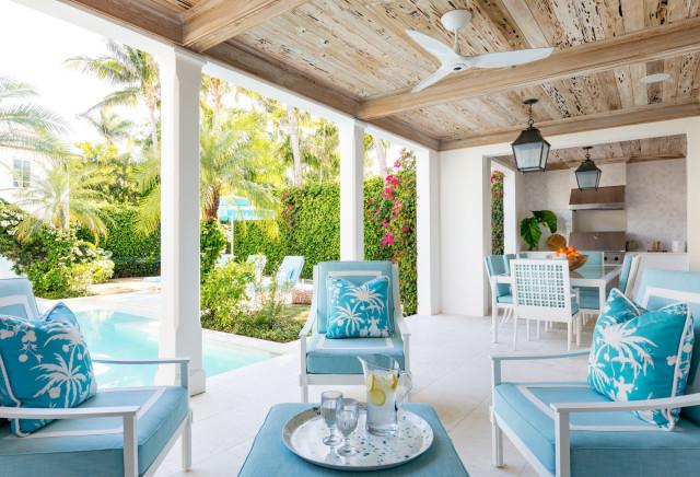 Tropical Oasis, Palm Beach トロピカル-テラス中庭