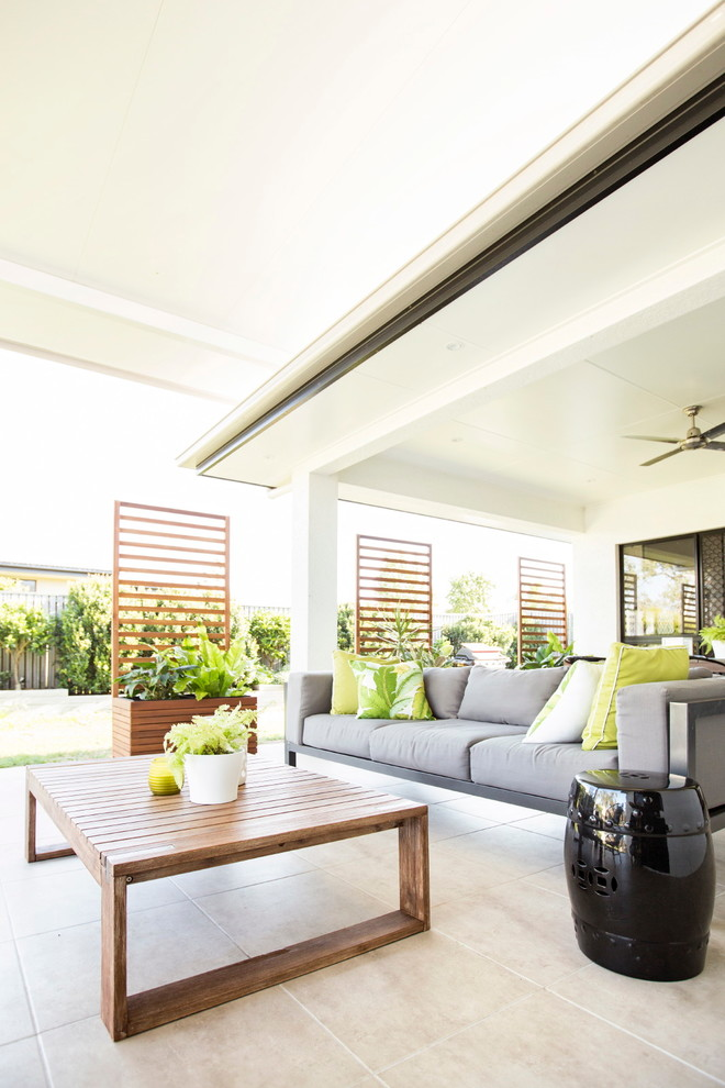 Tropical Outdoor Living / Patio - Tropical - Patio ... on Ab And Outdoor Living id=56287