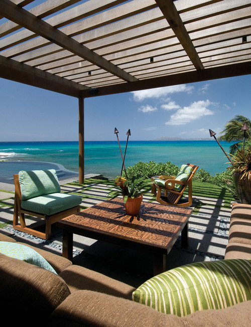 9 luxury homes that are far far from the polar vortex for Pool design honolulu