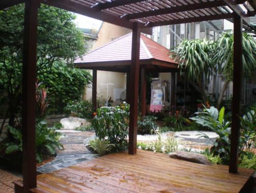 Tropical thai terraces tropical patio other metro for Thai garden design pictures