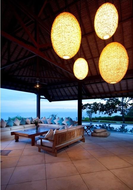 Tropical Villa in Bali tropical-patio