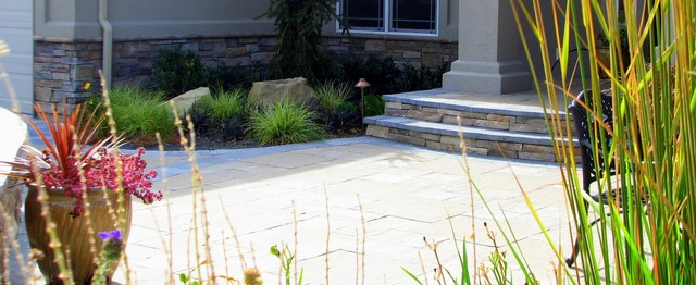 Troutner Way Residence traditional-patio