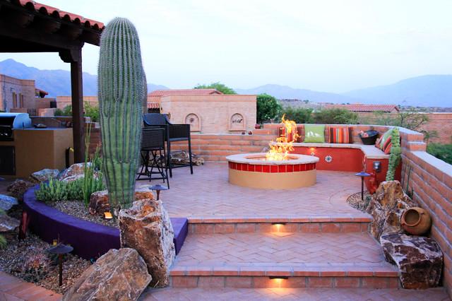 Tucson's Painted Desert contemporary-patio