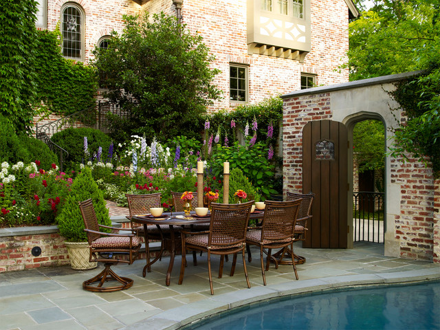 Tudor Revival Traditional Patio Nashville By Page