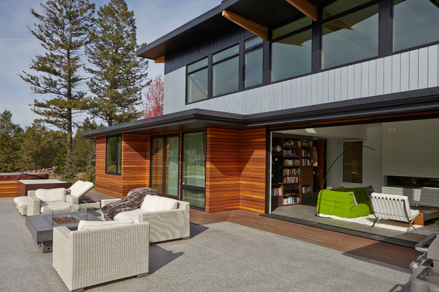 Turkel Design For Lindal Cedar Homes Contemporary