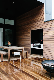 Turner Residence Barwon Heads Contemporary Patio Geelong By Greig Design Construction