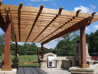 Tuscan Backyard Retreat - Mediterranean - Patio - toronto - by Coleman-Dias3 Construction Inc ...