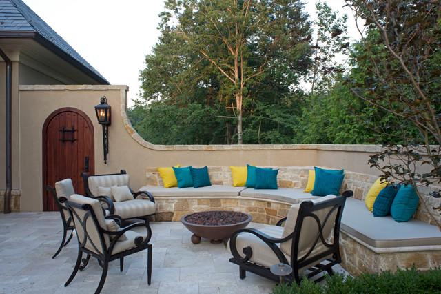 Tuscan Elegance mediterranean-patio