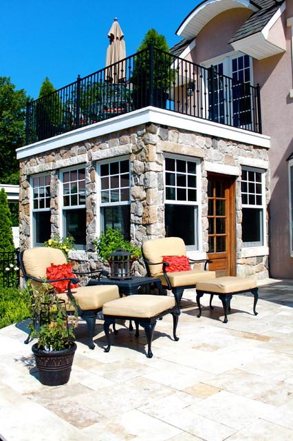 Tuscan Residence traditional-patio