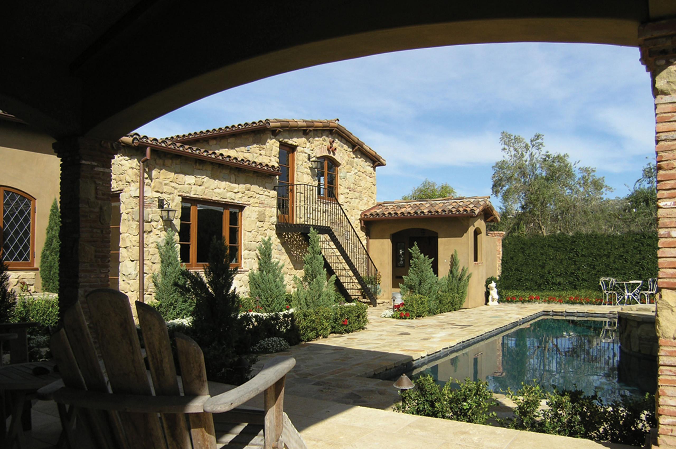 Tuscan Residence in Newport Beach
