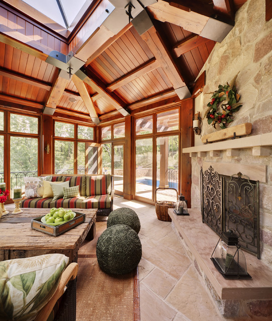 Tuscan Screened Porch