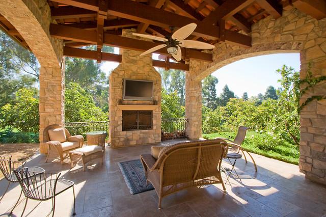 Tuscan Villa Mediterranean Patio Los Angeles By Arc Design