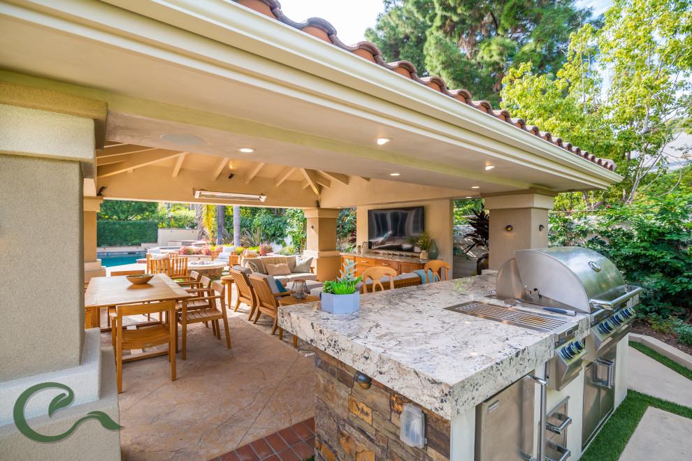 Tustin Ranch Backyard Oasis - Transitional - Patio ...