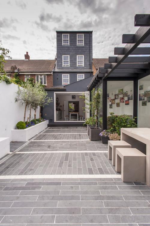 Witte Tegels Tuin.Inspiratie Voorbeelden Tuintegels 2019 Kosten