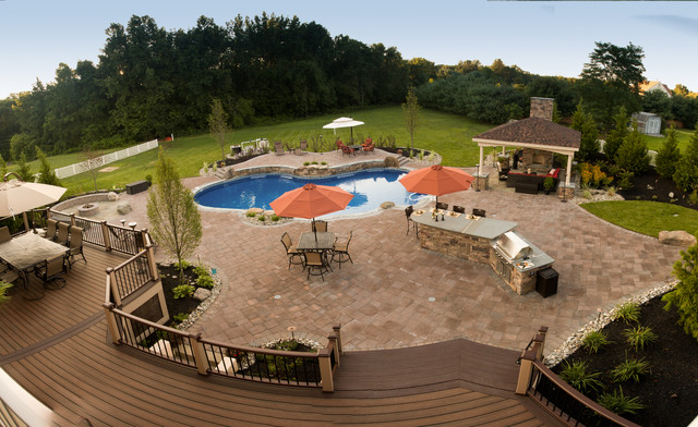 Ultimate Backyard Pools : Hollingsworth  Ultimate Backyard Escape  Traditional  Pool  Other