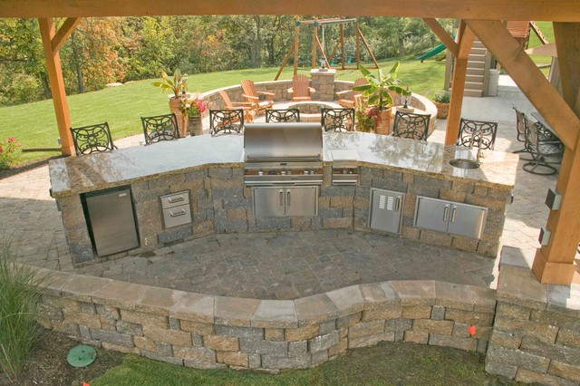 Superb Ultimate In Outdoor Living And Entertainment Traditional Patio