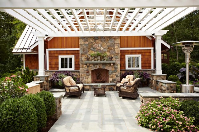 Ultimate man cave and sports car showcase traditional-patio