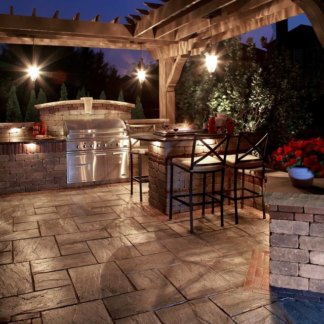 Unilock traditional-patio