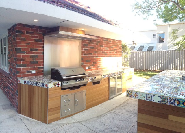 Unique One Off Outdoor Kitchen Contemporary Patio Perth By Talbot Le