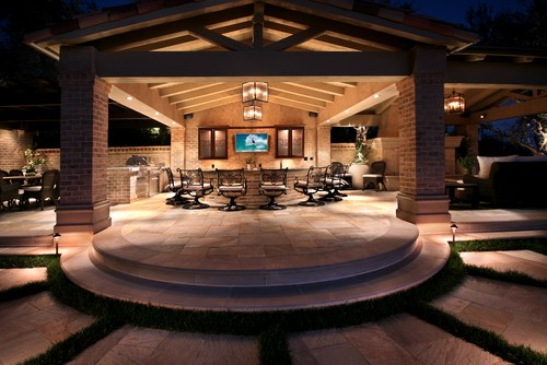 fall is a great season for an outdoor kitchen project - lifescape