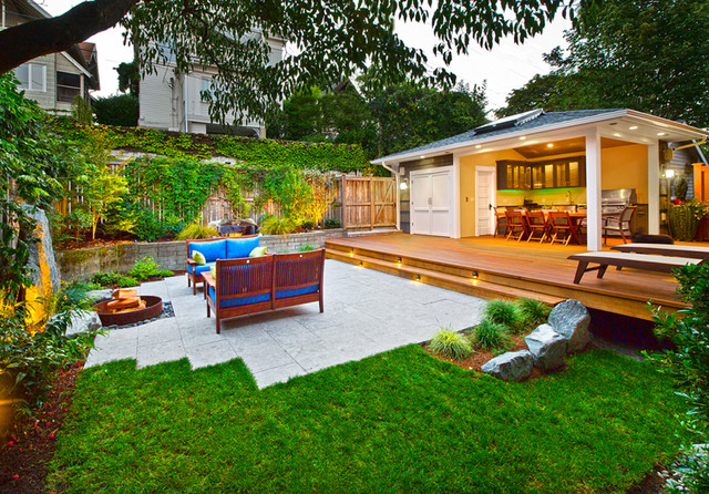 Urban Outdoor Living - Contemporary - Patio - Seattle - by ... on Urban Living Outdoor id=33992