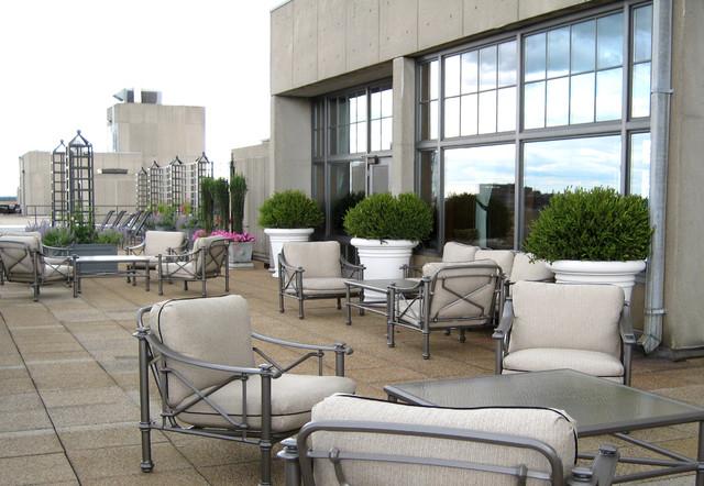 Patio - traditional patio idea in Boston