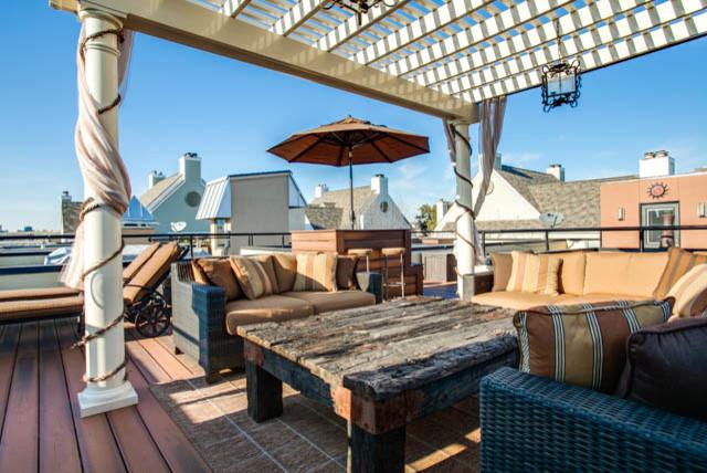 Urban Rooftop Outdoor Space contemporary-patio