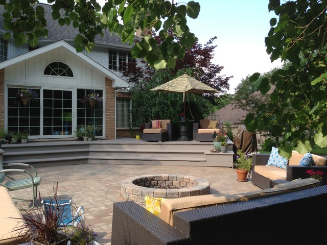 Valparaiso indiana backyard rehab contemporary patio Kitchen remodeling valparaiso indiana