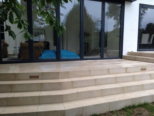 Valverdi Indoor Out Porcelain Tiles Patio Steps