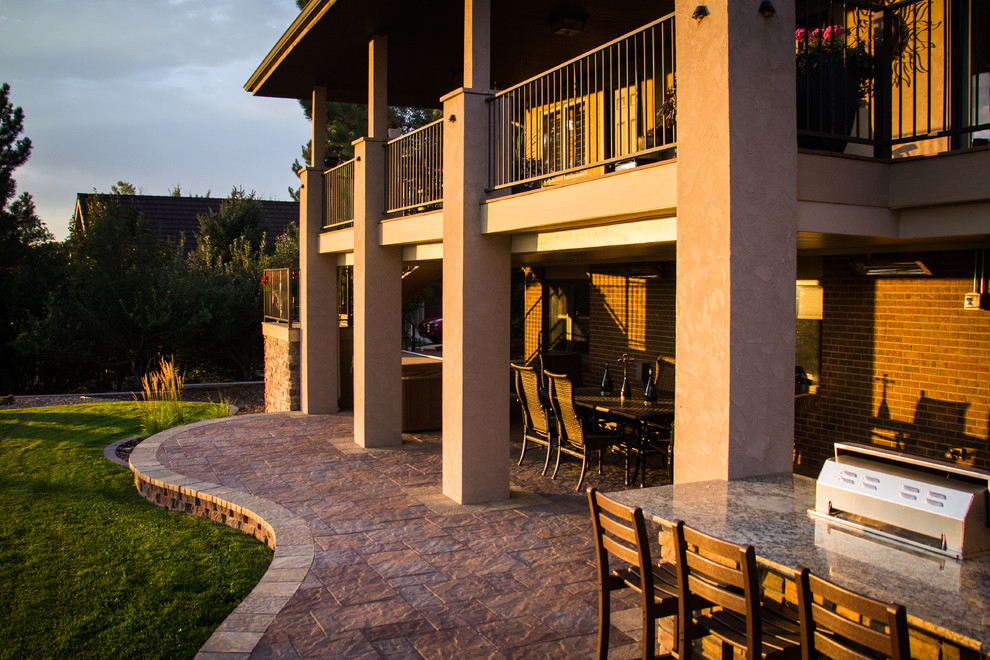 VANTAGE POINT - Rustic - Patio - Denver - by Elite ... on Elite Landscape And Outdoor Living id=39473