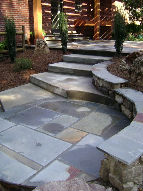 Various traditional-patio