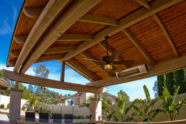 Vaulted Ceiling Patio San Diego By Eco Minded Solutions