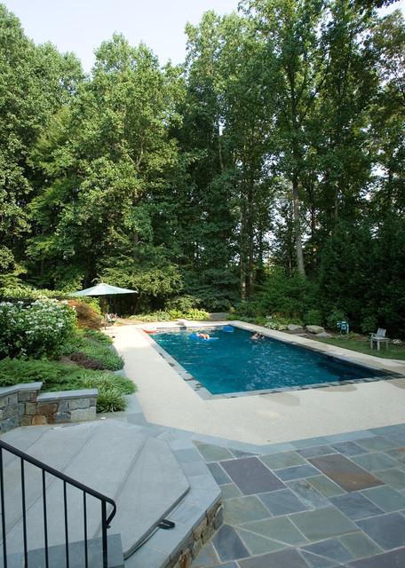 Vendome Home Renovation traditional-pool