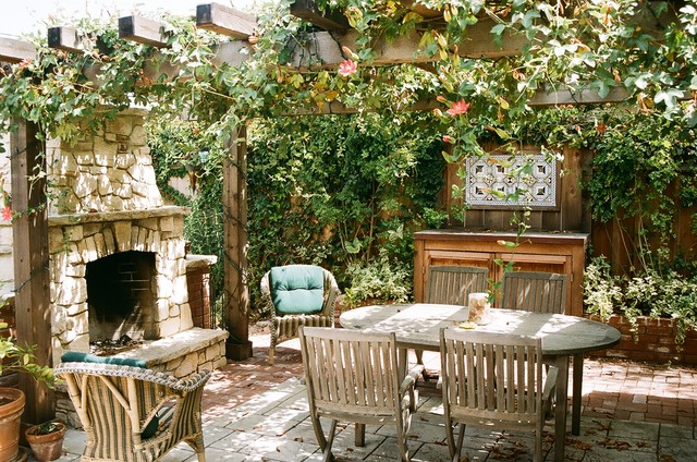 Vernon Residence Rustic Patio San Francisco By