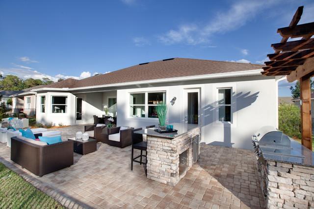 Victoria hills birch patio miami di kolter homes for Idee portico florida