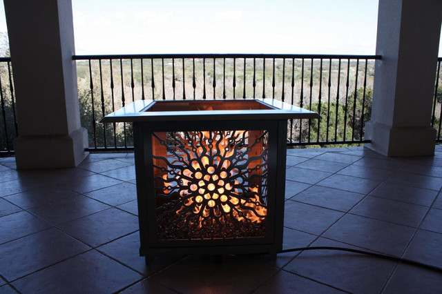 Victorian flatpack architectural fire feature for Flat pack garden room