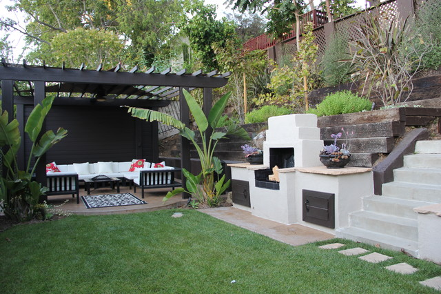 View Park Traditional Patio Los Angeles By