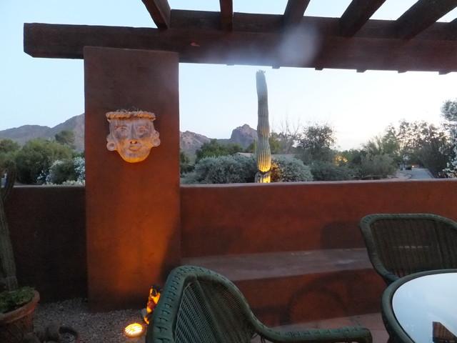 Views of Camelback & Mummy Mountain | Paradise Valley, AZ | Smoke Tree Lane $1.2 mediterranean-patio