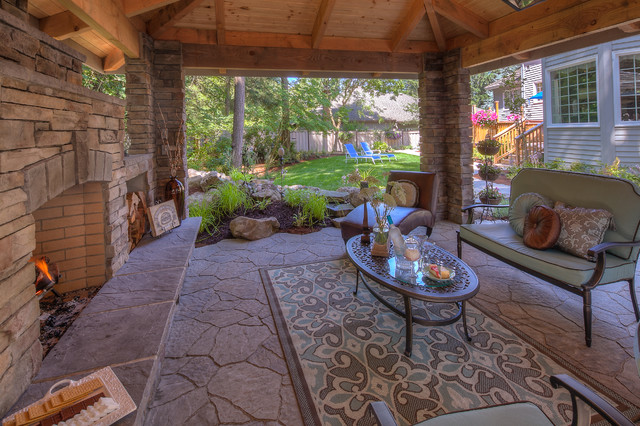 Vike traditional-patio