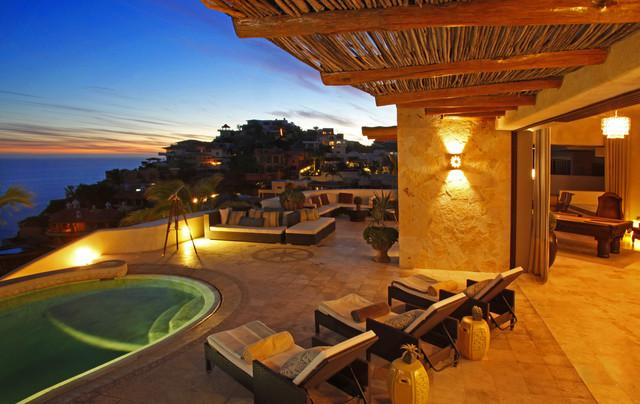 Villa Buena Vida mediterranean-patio